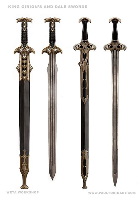 King Girion's Sword and Dale Soldiers Swords image