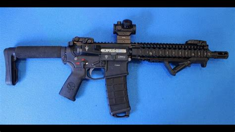 """G&p """"Punisher"""" custom build - MAGPUL PTS Selector for M4"""
