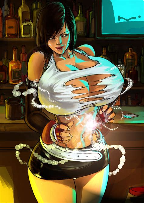 Tifa's Breast Expansion Materia by expansion-fan-comics