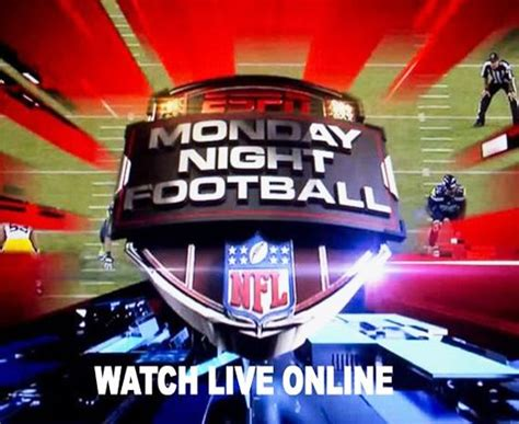 Watch Monday Night Football Live Streaming Free NFL 2016