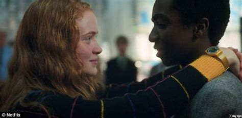 Sadie Sink stressed out by unscripted Stranger Things kiss