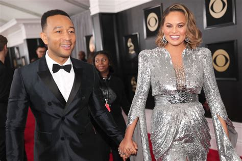 Chrissy Teigen Introduces Her Newborn Son To The World