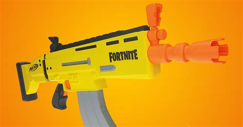 Fortnite's SCAR will make its Nerf debut next summer - The