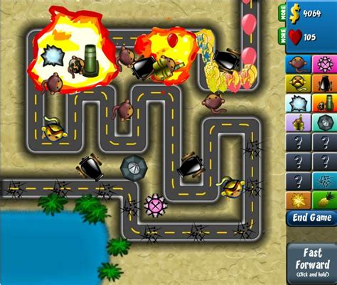 Online Games: Bloons Tower Defense 4