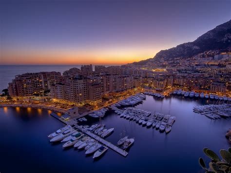 Monte Carlo At Night 745 : Wallpapers13