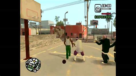 Grand Theft Auto: San Andreas - Basketball Gone Wrong