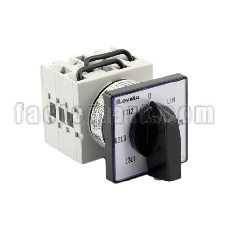 Rotary Cam Switches Lovato Gx1666U Voltmeter Switch 3 Phase