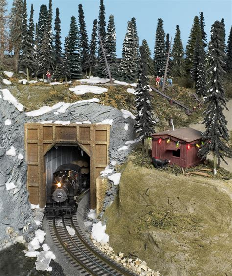 How to add temporary winter scenery to your layout