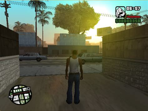 GTA: San Andreas Red Sky Effect