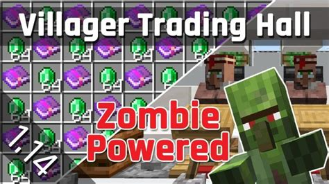 Villager Trading Hall Tutorial with Zombie Discounts