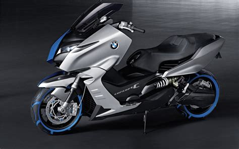 BMW Scooter C - Future Concept Scooter For Police | HD BMW