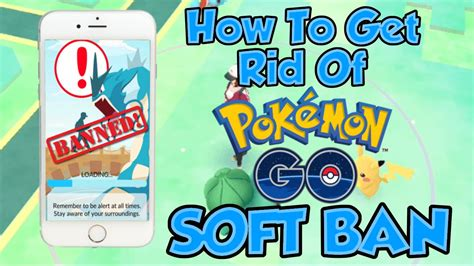 How To Instantly Get Rid Of A Soft Ban On Pokemon Go - YouTube