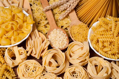 Cereal Grains and Pasta | Food Calorie Charts