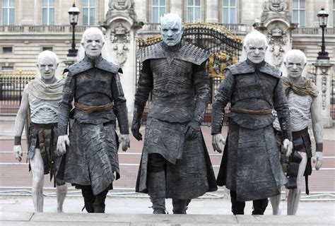 """Night King and White Walkers in London - """"Game of Thrones"""