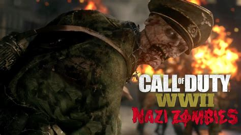 Call of Duty: WWII - Nazi Zombies Reveal Trailer - YouTube
