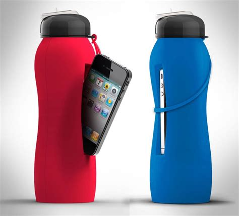 Beat Bottle Is a Water Bottle That Holds Your Phone