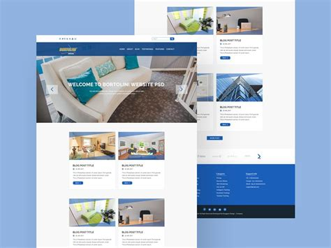 Property Website Template - Free Download