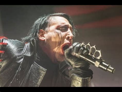 Marilyn Manson Live At Helfest 2018 - YouTube