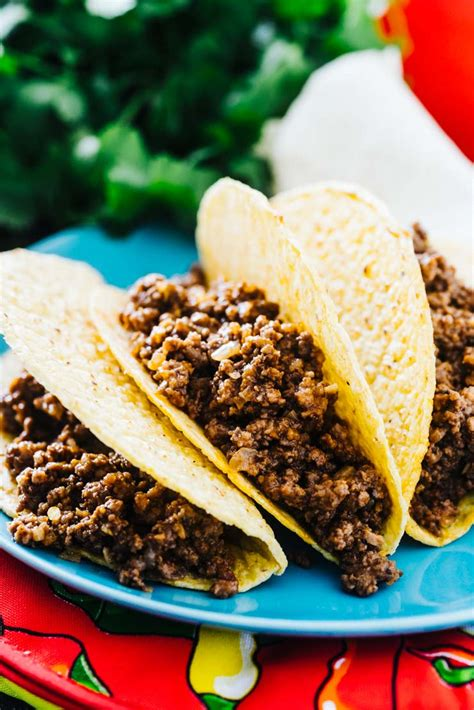 Mexican Style Ground Beef Recipe-- Saucy and flavorful