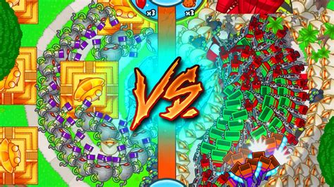 Bloons TD Battles :: NEW UPDATE LATE GAME BANANZA GAMEPLAY