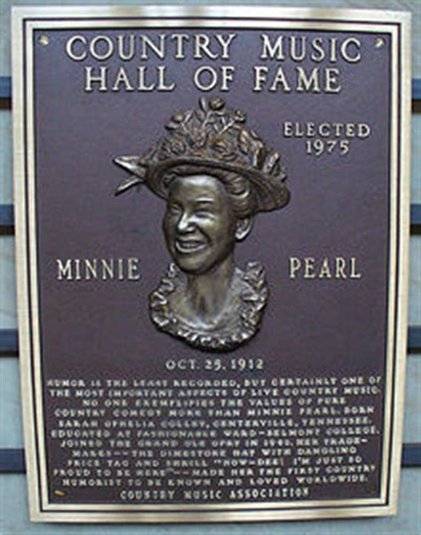Minnie Pearl - New World Encyclopedia
